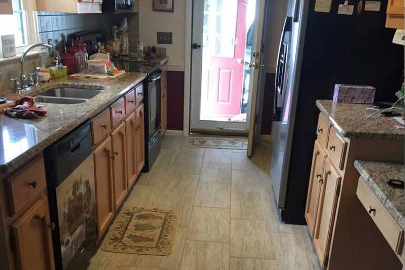 Kitchen Tile And Countertop